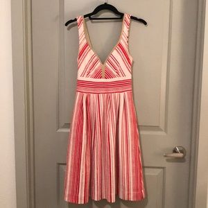 Anthropologie Red Dress. 9-H15 STCL